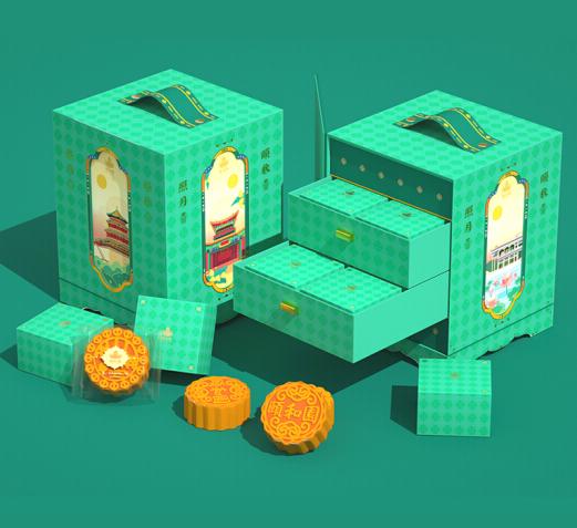 颐秋照月月饼礼盒