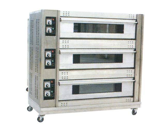 三层六盘电烤箱