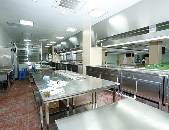 不鏽鋼廚房設備安装