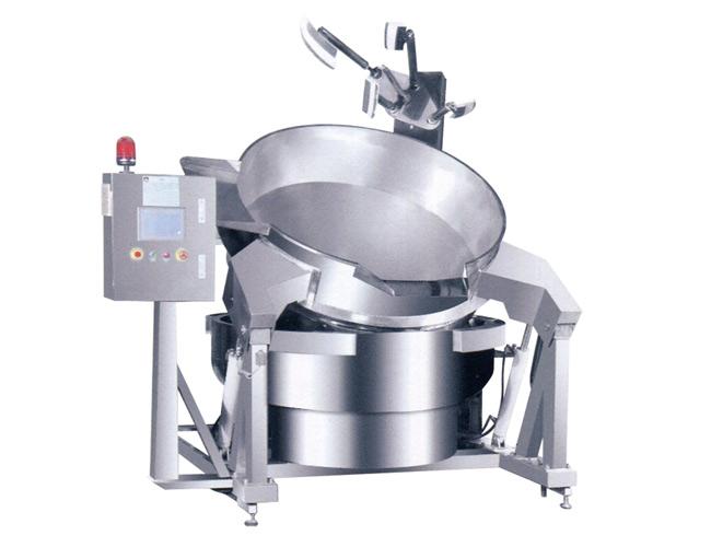 電磁行星攪拌自動炒鍋