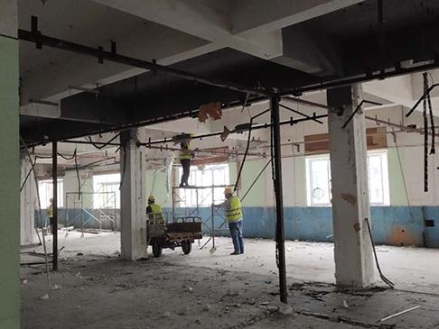 医院拆除改造