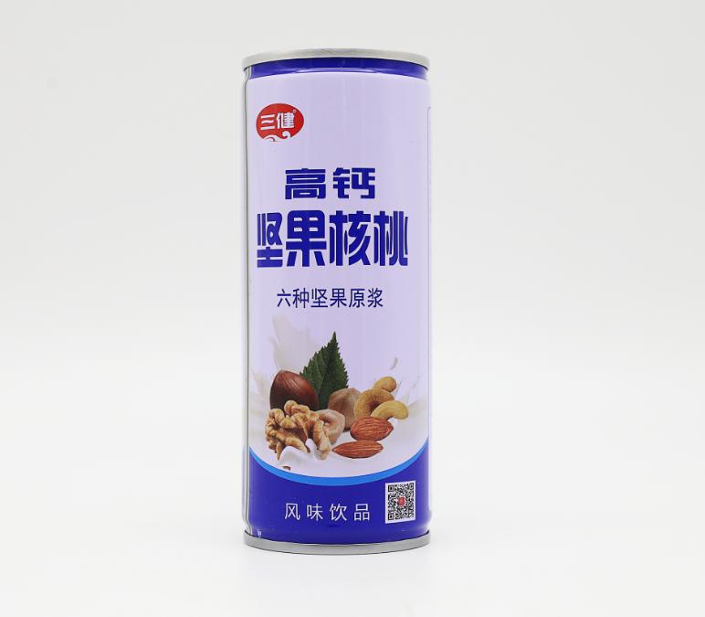 240ml铁罐高钙坚果核桃