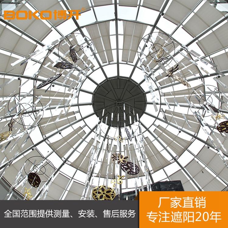 上海采光顶电动遮阳帘批发价格哪家便宜