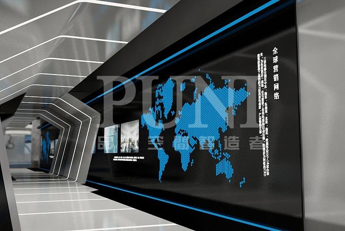 上海三荣电梯-展厅设计