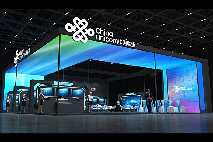 中国联通-展台设计