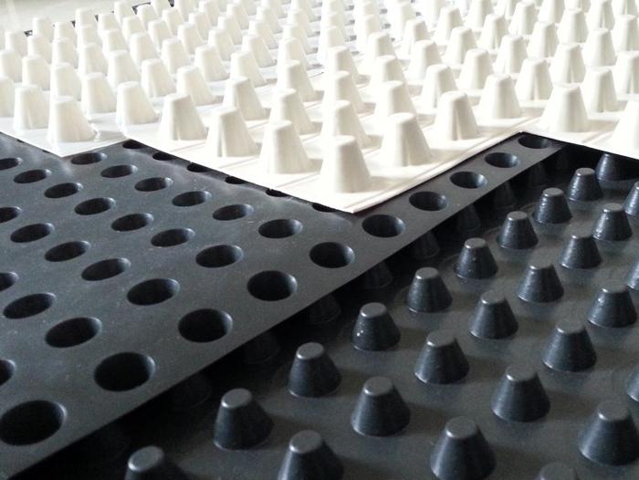 塑料排水板作用施工特点