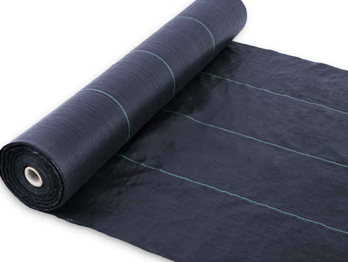 编织防草布