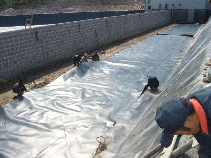新疆土工膜施工