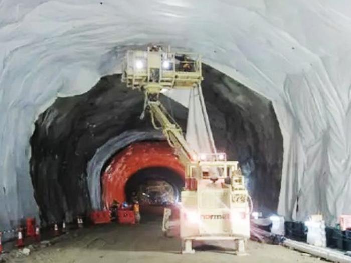 隧道专用防水板施工