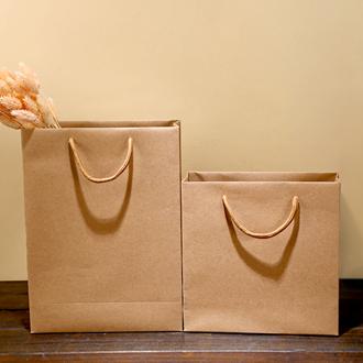 黄牛皮纸手提袋