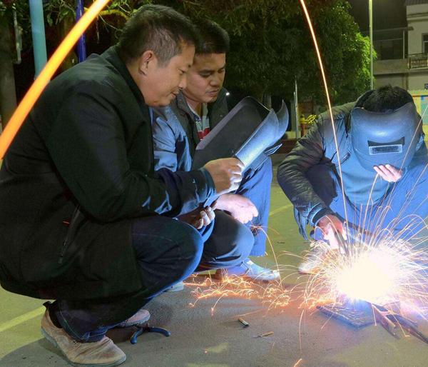 南阳电焊培训教学风采