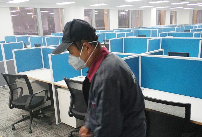 办公楼除甲醛