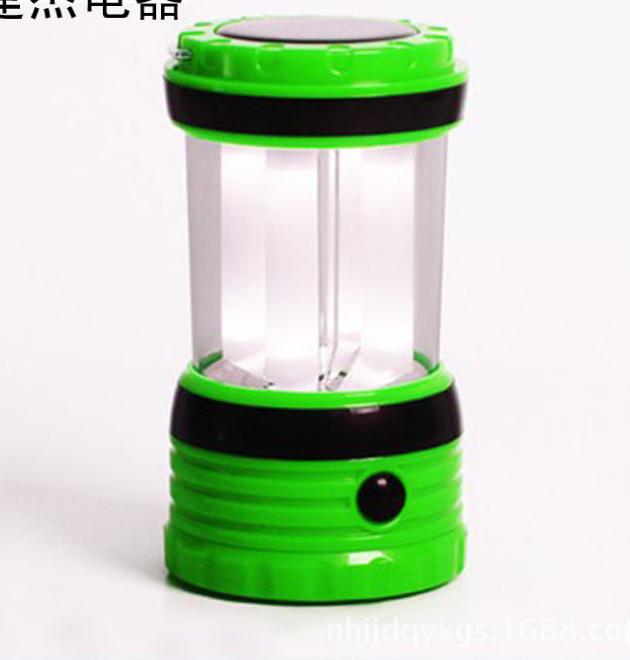 太阳能野营灯(绿)1
