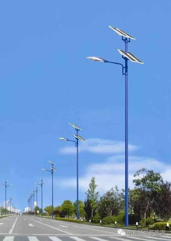 新疆太阳能路灯安装