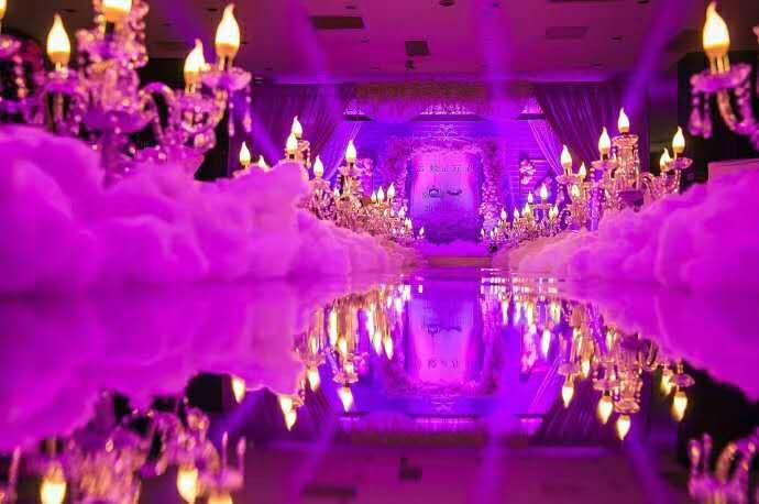 婚礼内部 环境布置展示