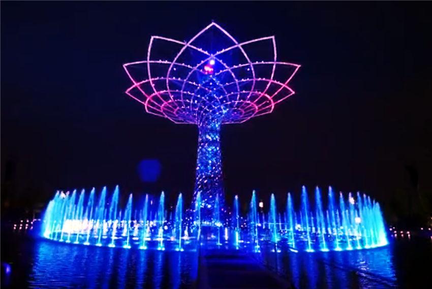 喷泉效果展示图