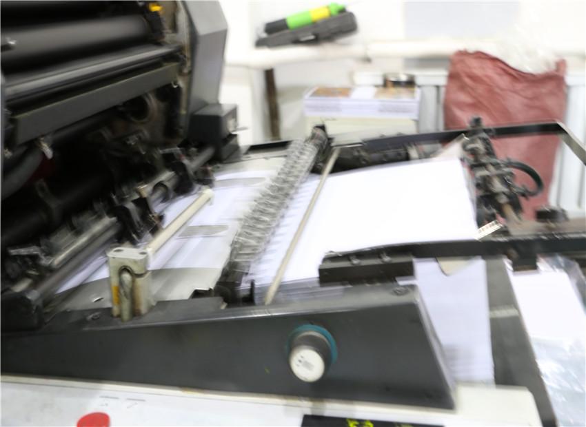 公司印刷车间