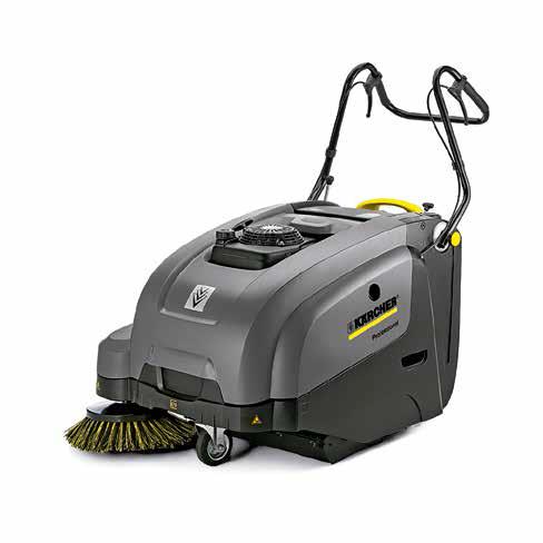 电池驱动型手推式清扫车