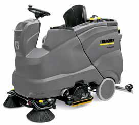 驾驶式洗地吸干机B150R