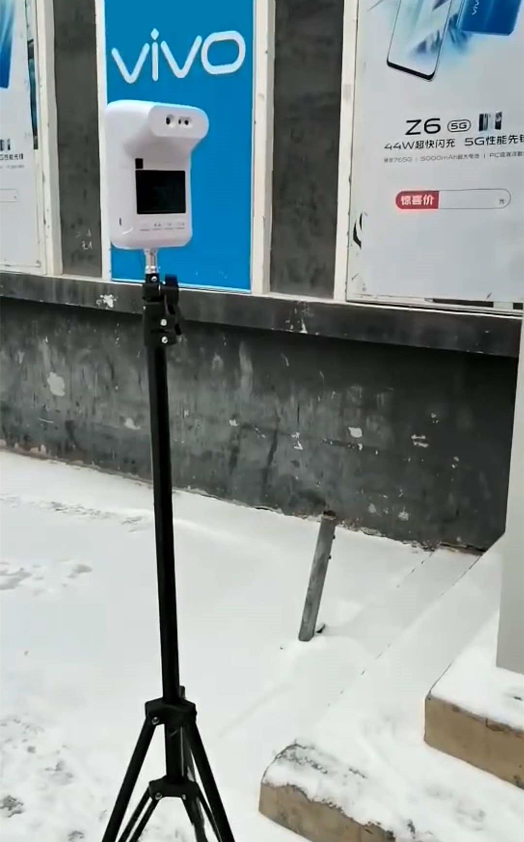 室外抗寒测温盒