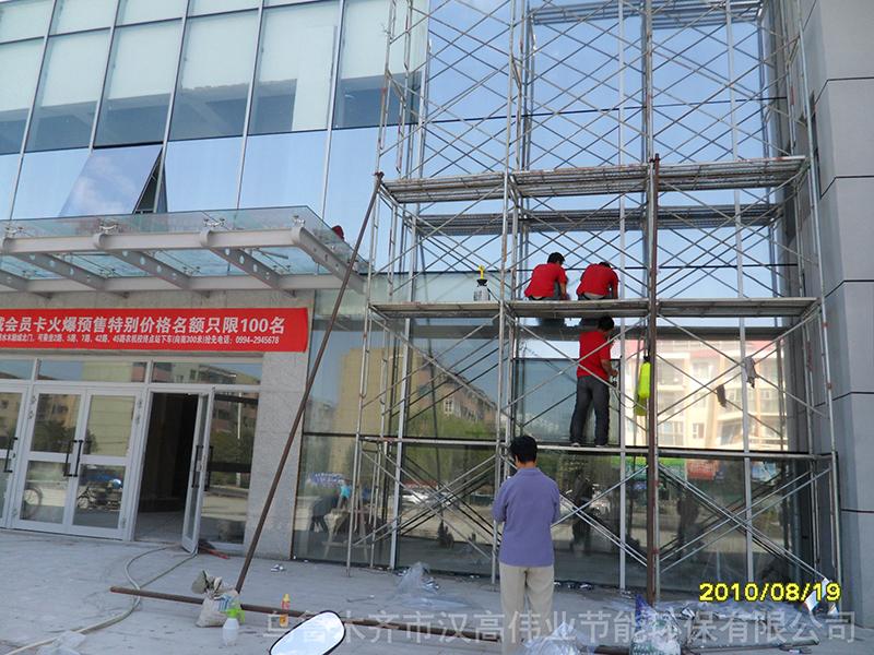 新疆建筑安全膜夏天隔热冬天保温节能