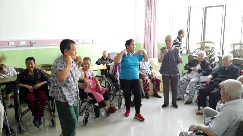 老年护理院文体活动