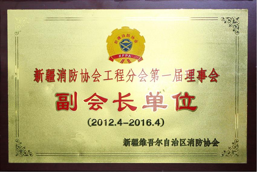 新疆消防协会《副会长单位》