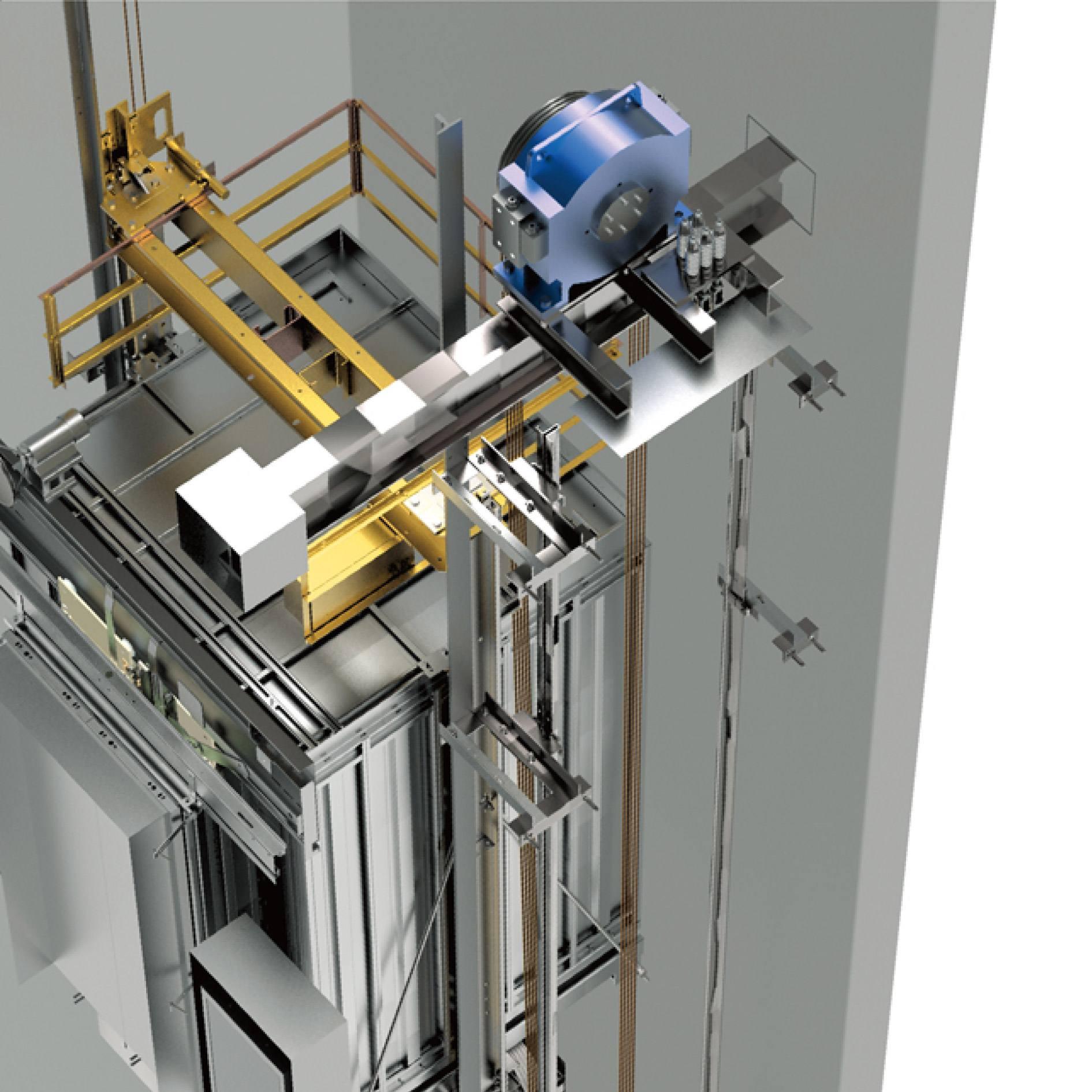 无机房乘客电梯样式