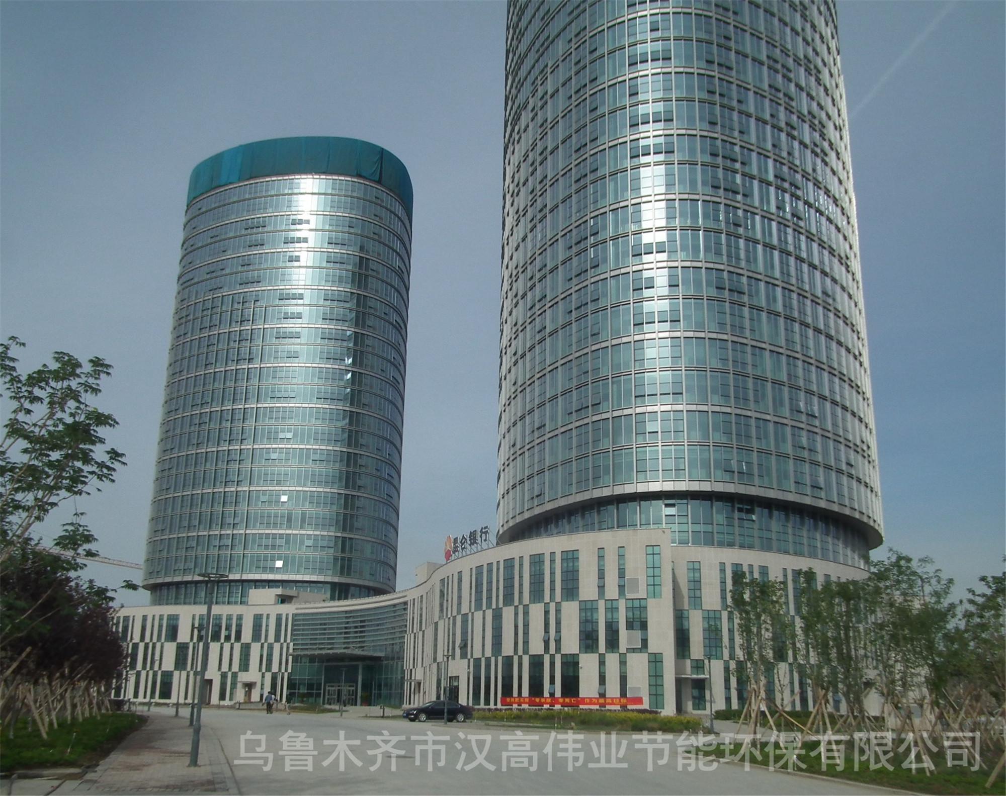 新疆软件园贴建筑隔热防爆膜