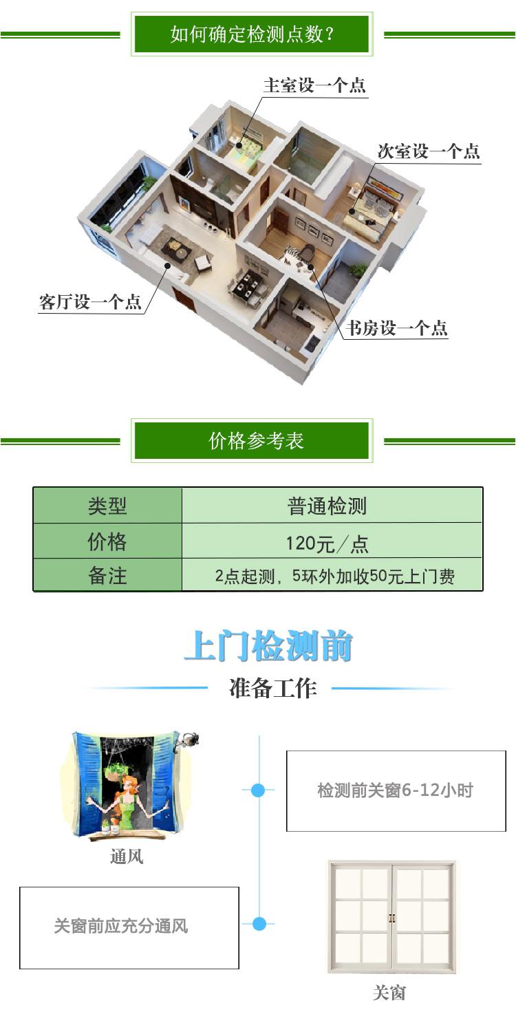 室内空气检测治理价格