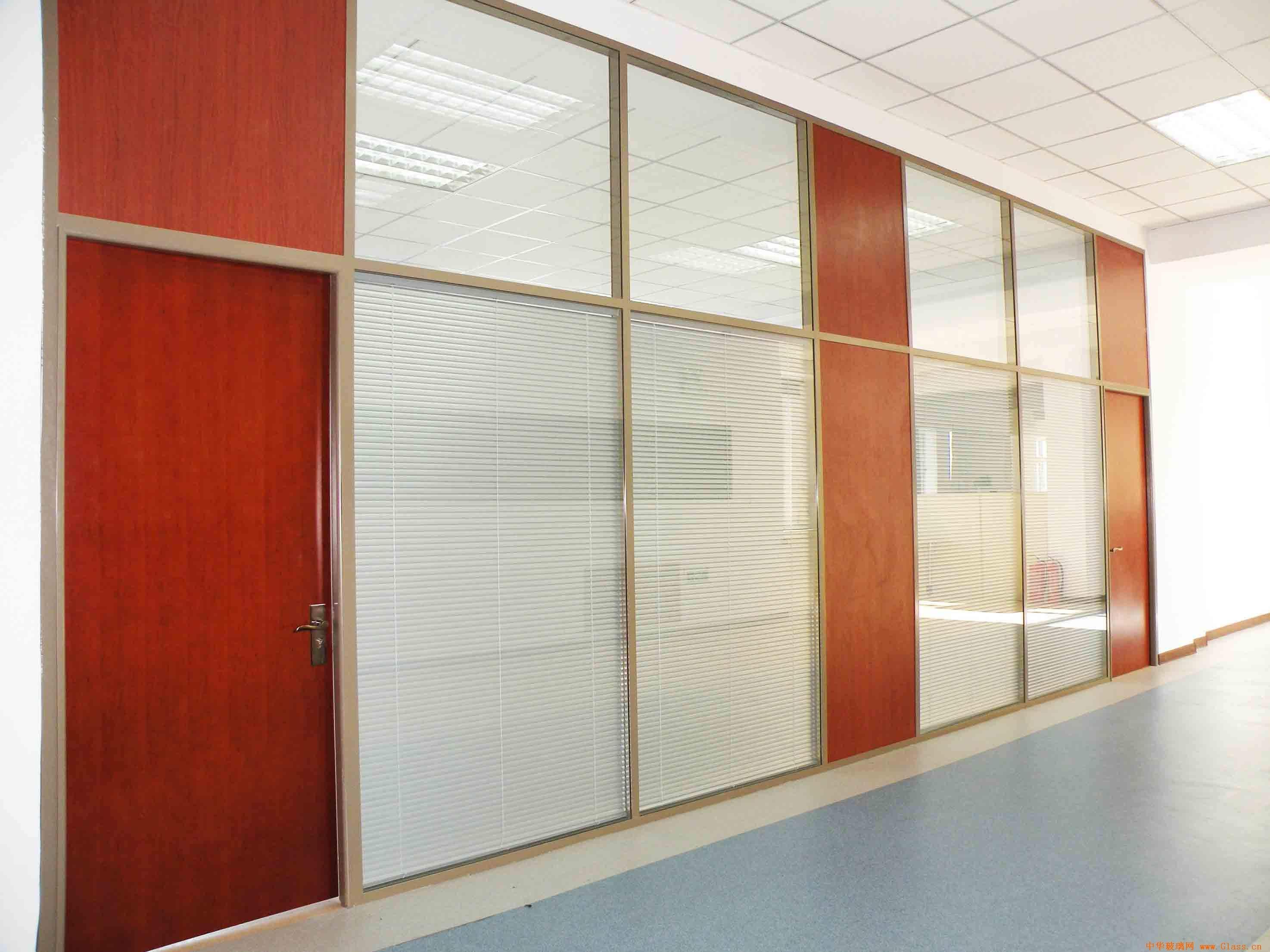 双玻加板材玻璃隔断