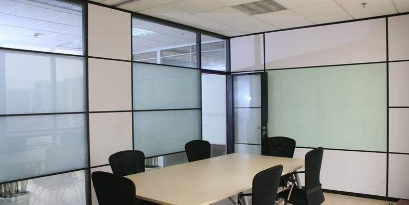 加板材玻璃隔断