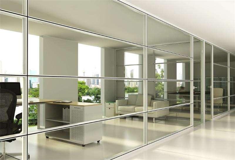 双玻 加板材玻璃隔断