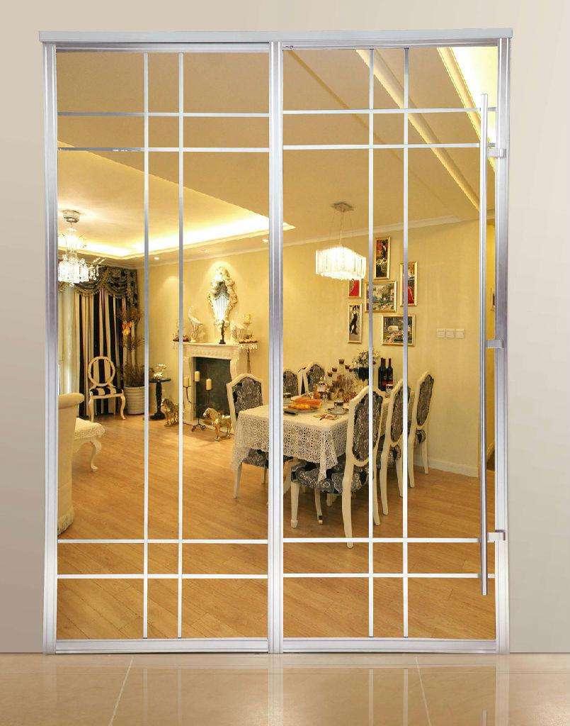 玻璃隔断门.