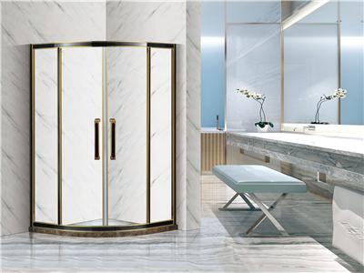 转角淋浴房玻璃隔断