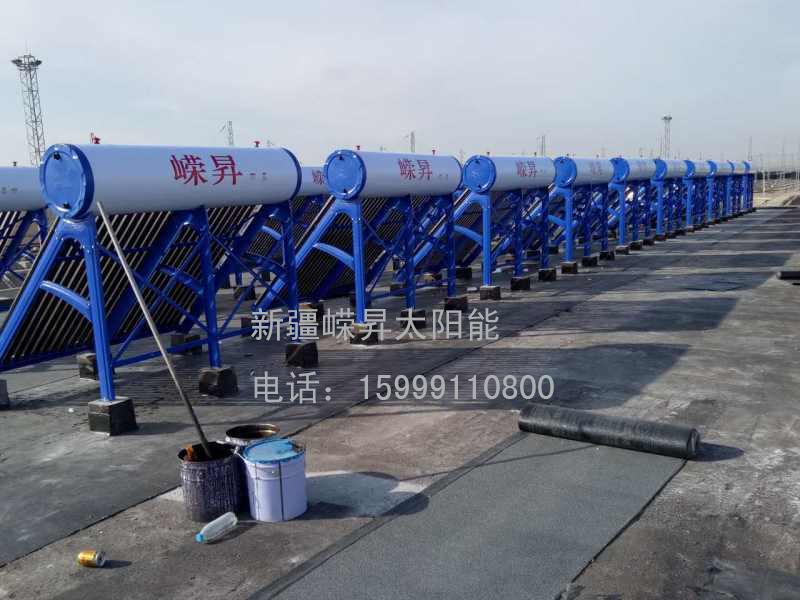 新疆太阳能热水器单机工程