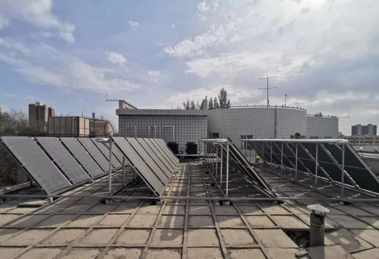 哈密铁路机务段澡堂洗浴改造太阳能工程