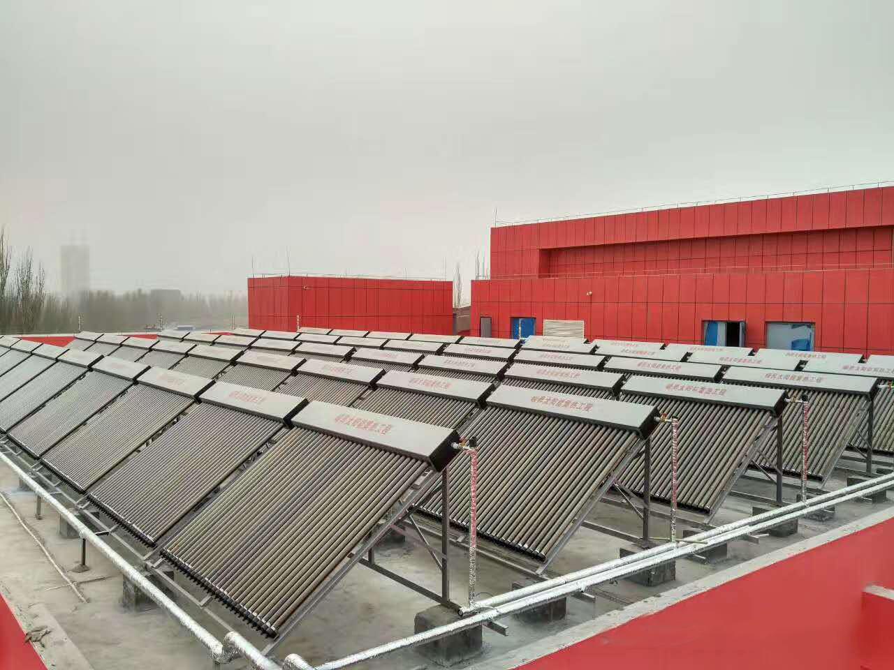 喀什市青少年活动中心太阳能集热工程