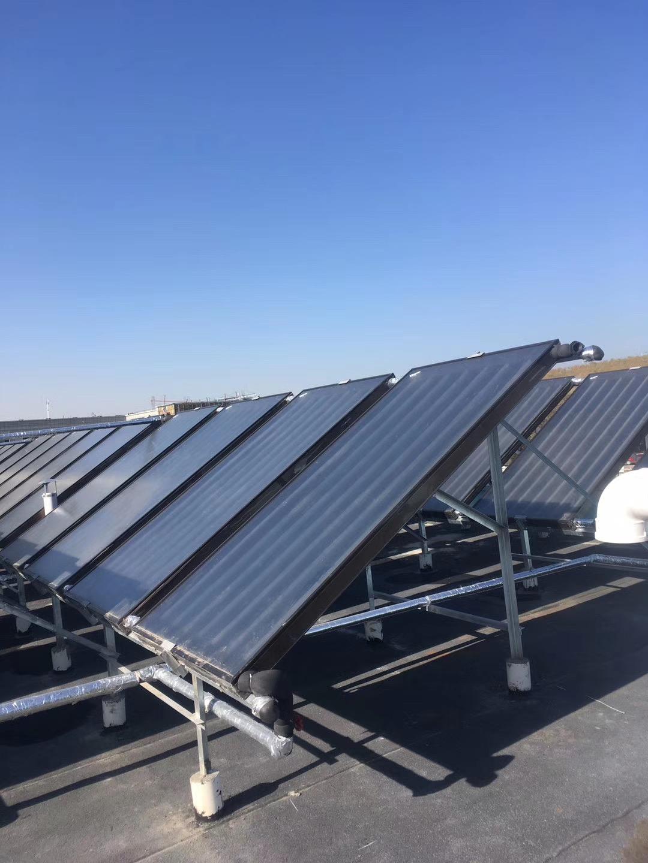 仓房沟太阳能平板热水工程