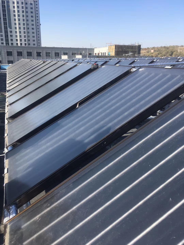 仓房沟太阳能平板热水工程1