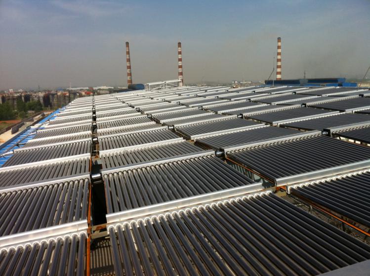 湖北华新太阳能平板工程