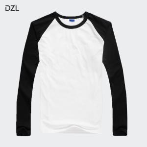 长袖T恤印花服装定制