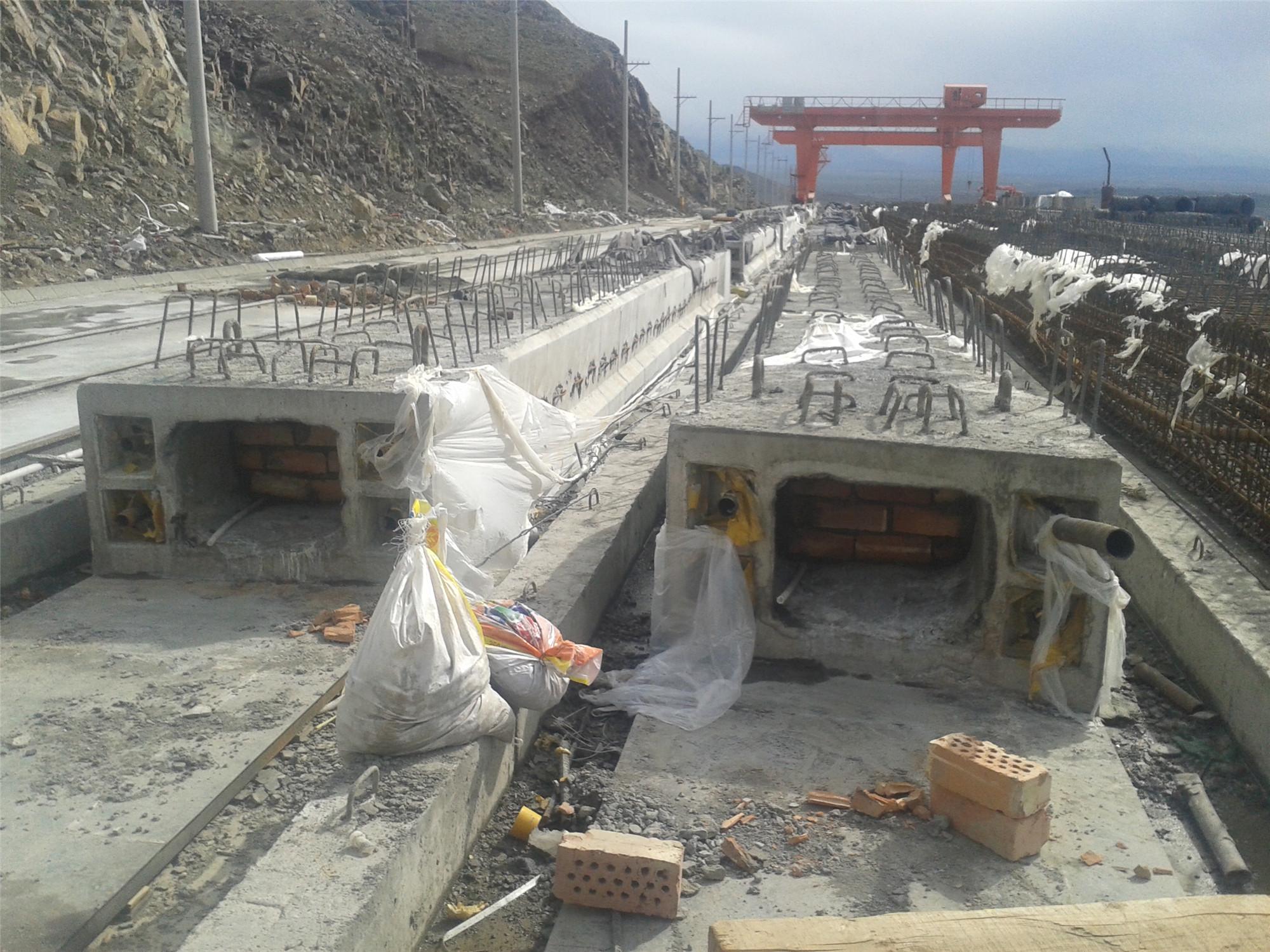地铁高架桥预制梁