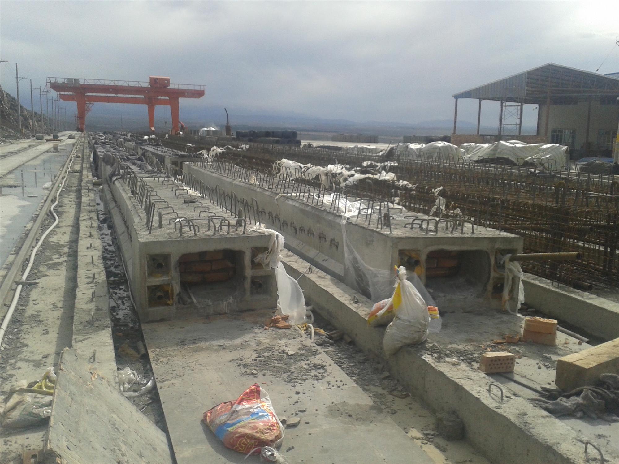 新疆地铁高架梁