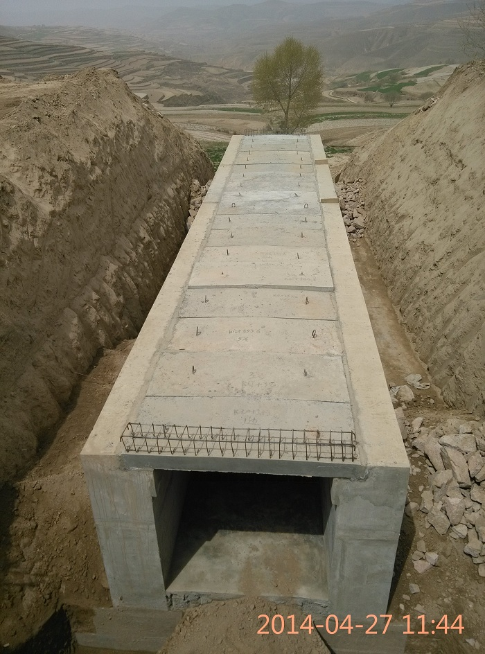 盖板涵工程