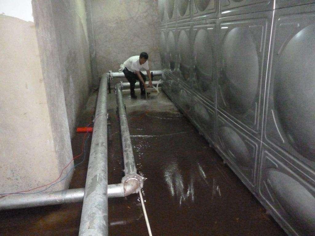 乌鲁木齐生活水箱清洗
