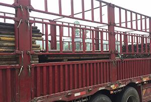 重庆旧钢管准备出货