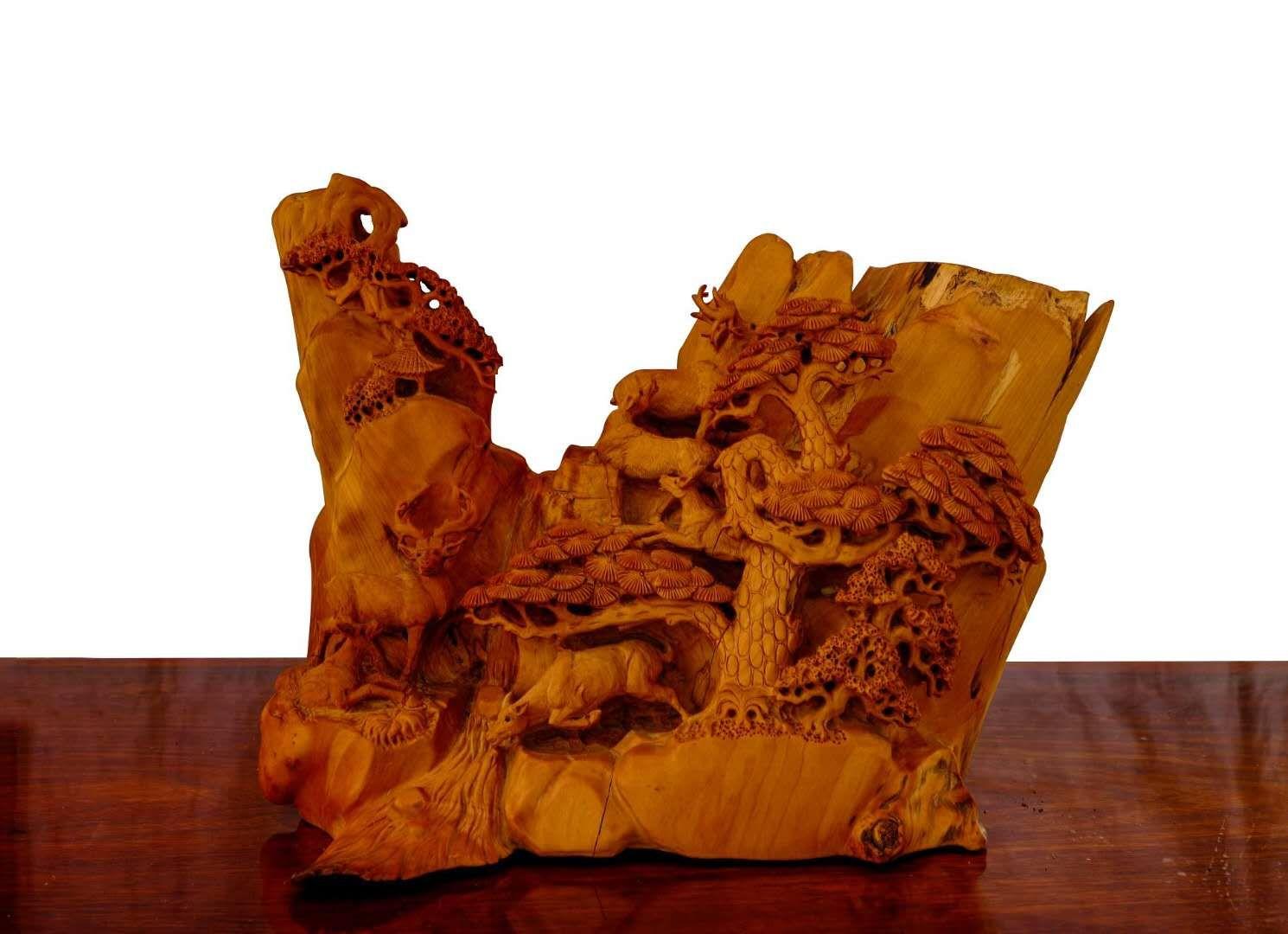 關于根雕工藝史以及特點基本介紹