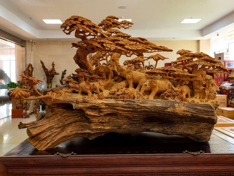 适合收藏的根雕工艺品是什么样子呢