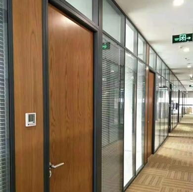 室内铝合金玻璃隔断
